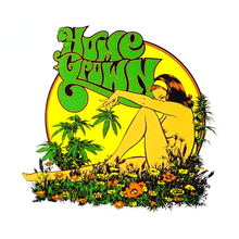 Classic Home Grown Weed Car Stickers Occlusion Bumper Trunk Scratch Truck Car Door Protector Decal Art Pattern Auto Decals