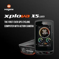 Magene Xplova X5 Evo sans fil GPS vélo ordinateur étanche Bluetooth 4.0ANT + vélo vélo compteur de vitesse Cadence soutien fréquence cardiaque