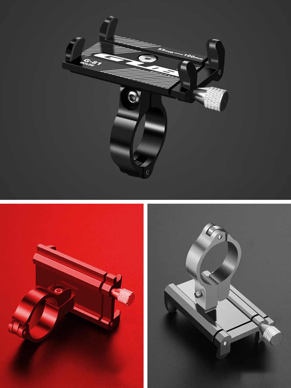 Гибкий держатель для телефона GUB, Алюминиевая Подставка для смартфона, для горного велосипеда, мотора, велосипеда, для Samsung, Huawei, Xiaomi, iphone, скутера