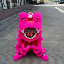 2021 classic Chinese Lion Dance Mascot Costume  Cartoon For kid  Outfit Dress New Year Spring Day Carnival Christmas Festiva