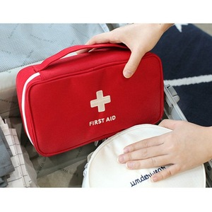 Image 3 - NEW First Aid Kit Emergency Medical First aid kit bag Waterproof Car kits bag Outdoor Travel Survival kit Empty bag
