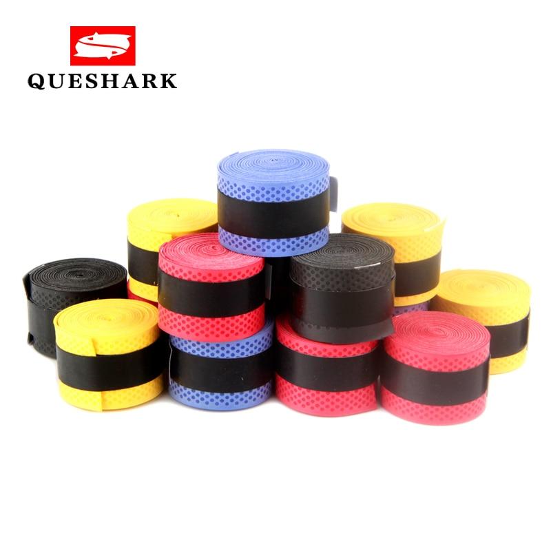 10Pcs Tennis Badminton Racket Over Grip Squash Tape Anti slip Sweat Sport Band