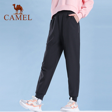 CAMEL Fitness Yoga Leggings Pants Women Breathable Quick-drying Sports Pants Widened High Waist Stretch Running Pants