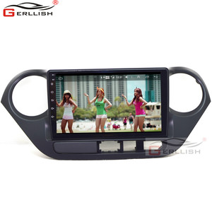 9 inch touch screen android car dvd player radio audio stereo with multimedia gps navigation for hyundai I10