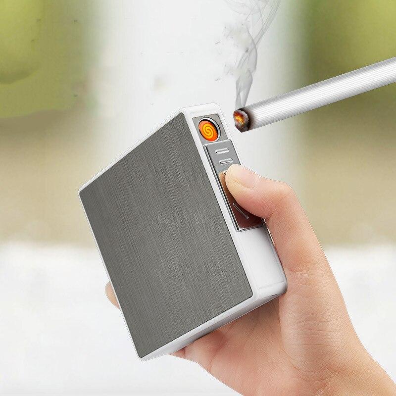 Купить водонепроницаемый и сжимающий алюминиевый чехол для сигарет