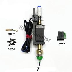 JUKI шаговый двигатель SMT головка Nema8 полый вал шагового двигателя для Палочки место головки SMT DIY Mountor 5 мм специальный соединительный вращающе...