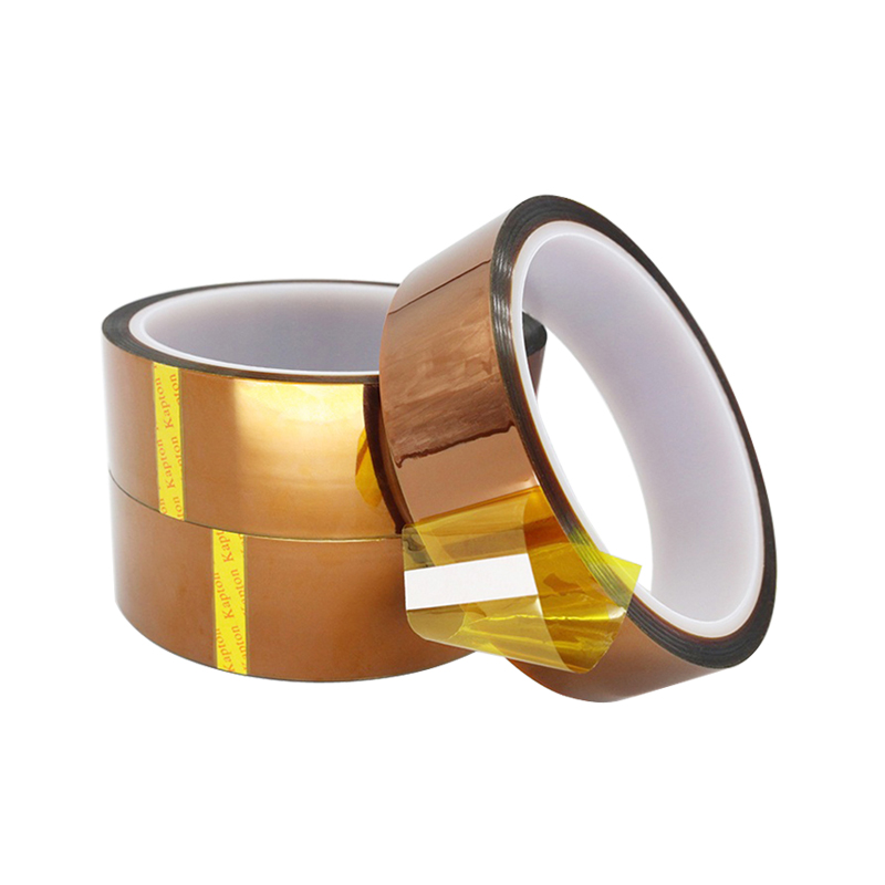 High Temperature Tape Thermal Insulation Polyimide Adhesive Insulating Kapton Tape 3 5 6 7 8 10 12 15 18 20 25 30 35 40 45 50 Mm