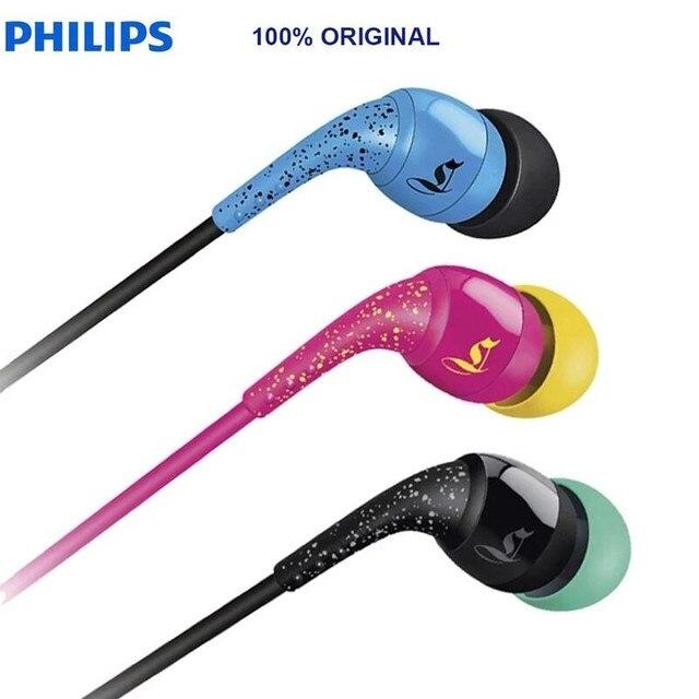 Philips Sho1100 Mp3 In EarหูฟังกีฬาEarplugsเบสสำหรับชายหญิงอย่างเป็นทางการ