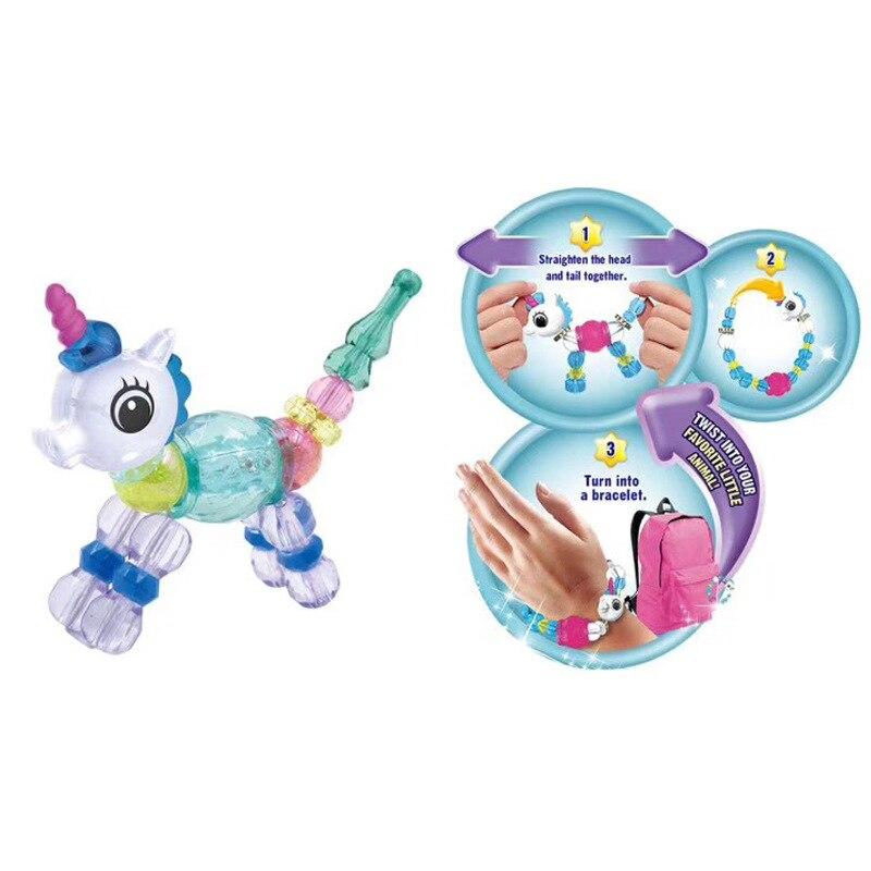 Magic Animal Transformation Bracelets GIRL'S Accessories DIY Bracelets Lian Ai Pet Bracelets Cross Border New Products Unicorn