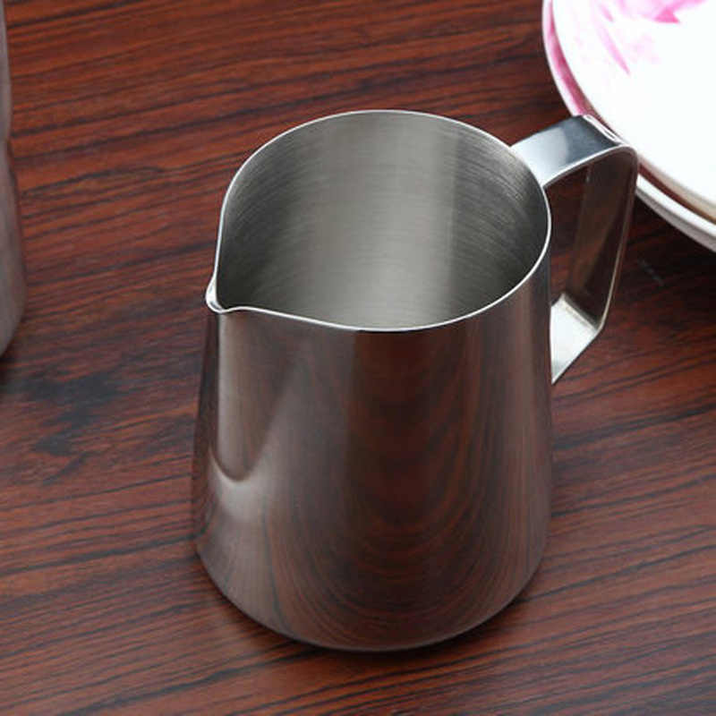 DIY Seni Kopi Pot Dapur Stainless Steel Susu Buih Kendi Kopi Pitcher Barista Kerajinan Espresso Buih Pitcher Tuangkan Piala