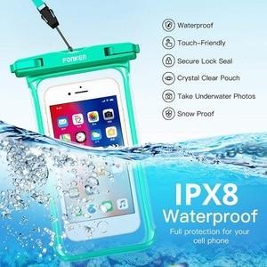 FONKEN Wasserdichte Telefon Fall Für Iphone Samsung Xiaomi Swimming Dry Tasche Unterwasser Fall Wasserdicht Tasche Handy Tasche Abdeckung