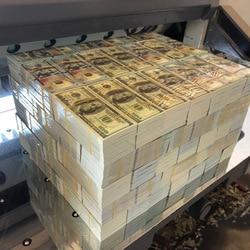 100 листа/уп наклейки для ногтей с Комплект из предок деньги Ладан Бумага неба банкнот принадлежности для похоронных церемоний Бумага сжиган...
