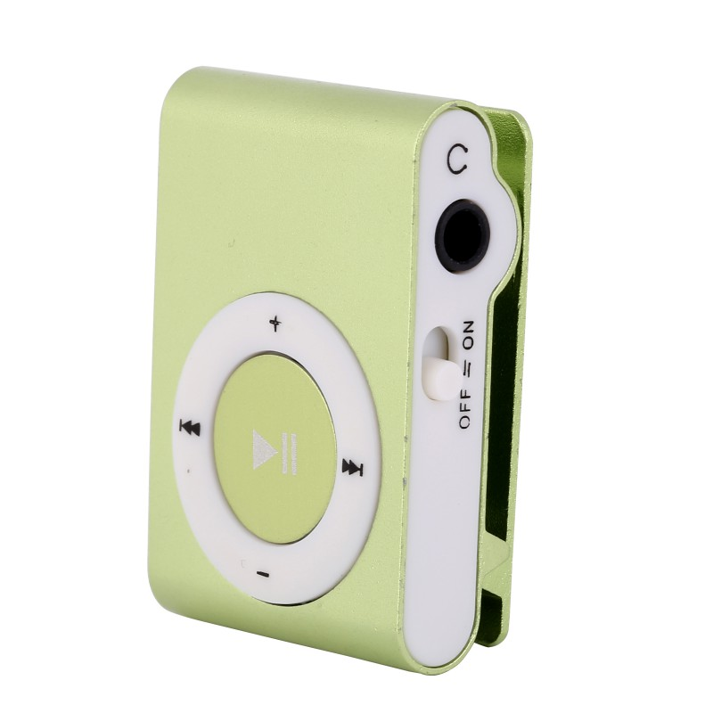 8 Colors Protable Mini Mp3 Music Player Mp3 Player Support Micro TFCard Slot USB MP3 Sport Player USB Port With Earphone