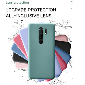 For Xiaomi Mi 9 10 Lite 9T Pro Redmi 8 8A Note 8 Pro Note 9s New Original Liquid Silicone Soft Case Camera Protection Back Cover image