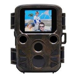 Szybka fotografia Mini wodoodporna kamera myśliwska Hd zewnętrzna podczerwona ukryta kamera myśliwska pole narzędzie do polowania