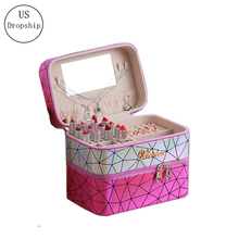 New Women Laser Cosmetic Bag Travel Makeup Organizer Professional Make Up Box Cosmetics Pouch Bags Beauty Case For Artist