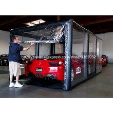 Водонепроницаемый тент гараж автоматическая капсула открытый надувной автомобиль крышка для града
