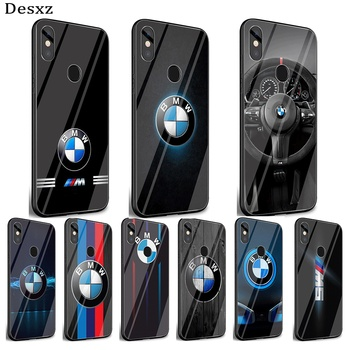 bmw New case Glass phone Case For Huawei Honor 7A Pro Honor 8X Honor 9 Lite Honor 10 Lite Cover image