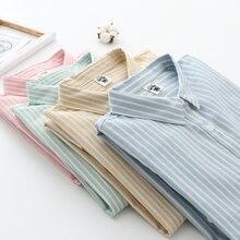Рубашка на пуговицах для женщин женские топы и блузки женская