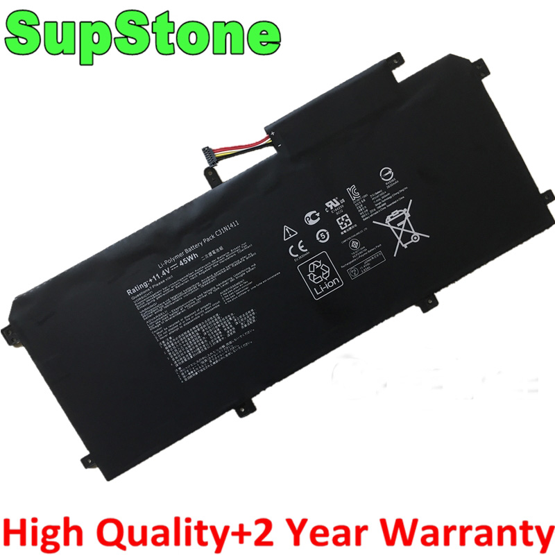 SupStone New C31N1411 Laptop Battery For Asus Zenbook U305 U305F U305FA U305CA UX305 UX305CA UX305F UX305FA U305L U305C