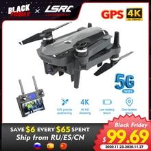 LSRC K20 Drone GPS 5G HD 4K מצלמה מקצועי 1800m תמונה שידור Brushless מנוע מתקפל Quadcopter RC dron צעצוע מתנה