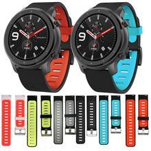 Für Original Xiaomi Huami Amazfit Stratos 2 2 S/amazfit GTR 47mm armband armband smart watch band 22mm weiche silikon Armband
