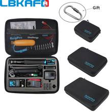 Portable Carry Case Protective Bag for GoPro Hero 8 7 6 5 4 SJCAM SJ9 YI DJI OSMO Action Camera Accessory Anti shock Storage Box