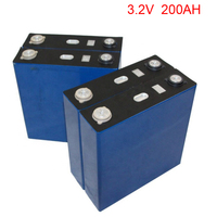 1pcs/lot DIY 3.2V 200Ah lithium iron phosphate battery 200Ah for electric car solar system UPS