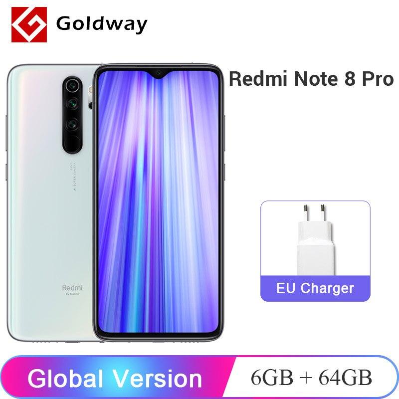 Смартфон Xiaomi Redmi Note 8 Pro, 6 + 64 ГБ, 4500 мАч