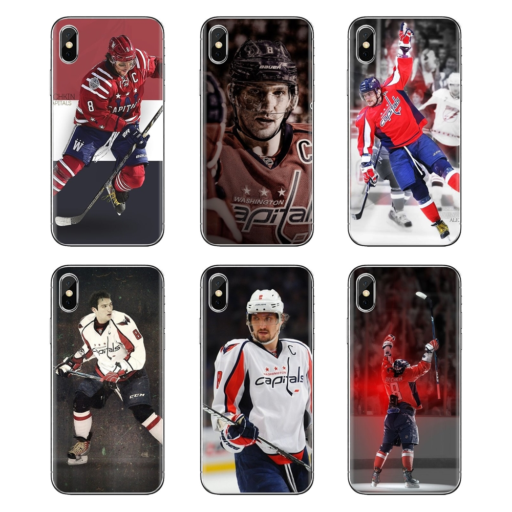 Alex Ovechkin For Huawei G7 G8 P7 P8 P9 P10 P20 P30 Lite Mini Pro P Smart Plus 2017 2018 2019 Transparent Soft Shell Covers(China)