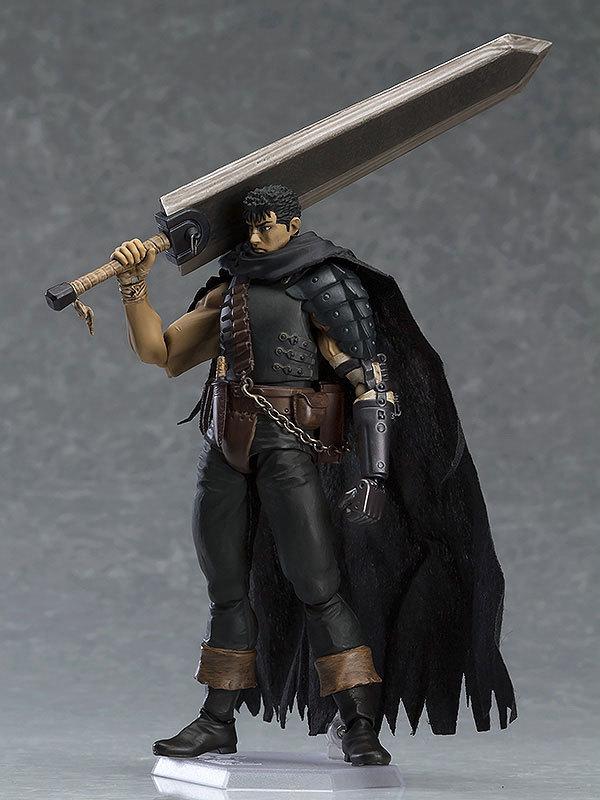 Berserk Guts Assembly PVC Action Figure Anime Black Swordsman Baserk Change Face Ver. Model Toy 17cm|Action & Toy Figures| - AliExpress