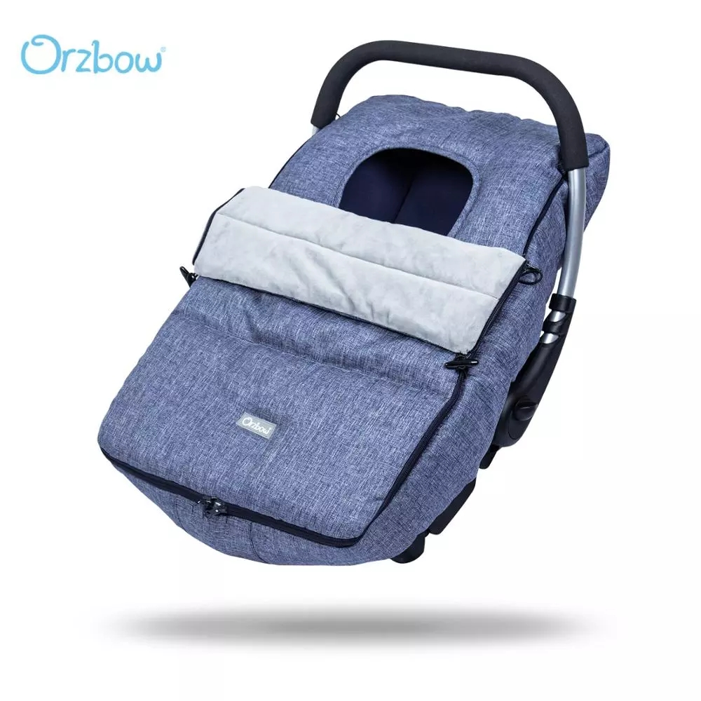 Orzbow Baby Car Seat Canopy Nursing Cover Winter Warm Infant Carriers Covers Baby Stroller Carseat Footmuff Bunting Bags 0-18M