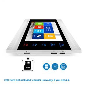Image 2 - Tuya sistema de intercomunicación inteligente con detección de movimiento, teclado de código, cámara RFID, Vídeo IP, WiFi, envío gratis