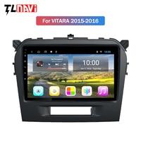 2G RAM Android 10 9 zoll auto navigation für Suzuki Vitara 2015-2016 unterstützung Wifi SWC OBD hinten kamera