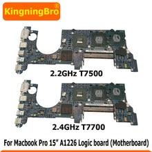 Оригинальная материнская плата 2,2 ГГц 2,4 ГГц для Macbook Pro 15