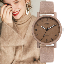 Top Brand Women's Watches Fashion Leathe