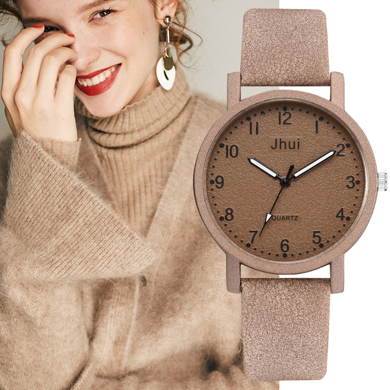 Top Brand Women's Watches Fashion Leather Wrist Watch Women Watches Ladies Watch Clock Gift Zegarek Damski Relojes Mujer 2019