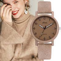 Top Brand Women's Watches Fashion Leather Wrist Watch Women Watches Ladies Watch Clock Gift zegarek damski Relojes Mujer 2019