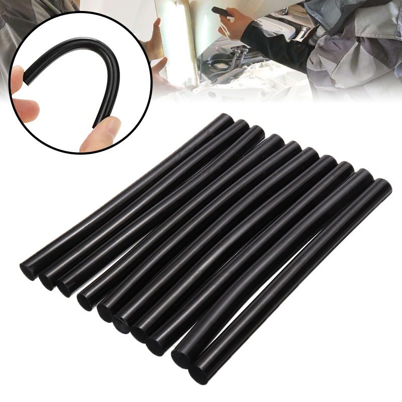 10pcs 7x100mm Black Glue Sticks For Electric Glue Gun Craft Album Alloy Accessories Car Dent Paintless Removal Hand DIY Tool