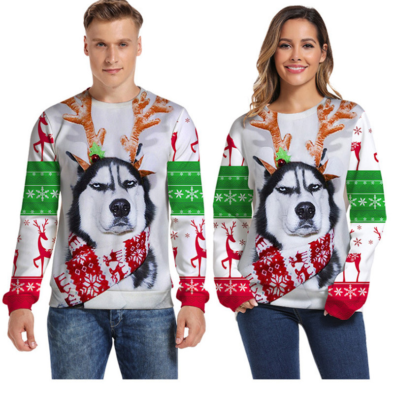 Ugly Christmas Sweater Men Fashion Funny Xmas Pullover Funny Hoodie Sweatshirt Vacation Pull Homme Pullover Hoodies Pullover Men