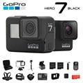 Оригинальная Экшн-Камера GoPro HERO 7 <font><b>Black</b></font> 4K 60fps 1080P 240fps video Go Pro Sport cam 12MP фото wifi Live Streami Hyper Smooth