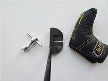 Clubes de golfe fastback 1.5 putter clubes de golfe fastback 1.5 taco de golfe 33/34/35 Polegada eixo de aço com cabeça cobrir