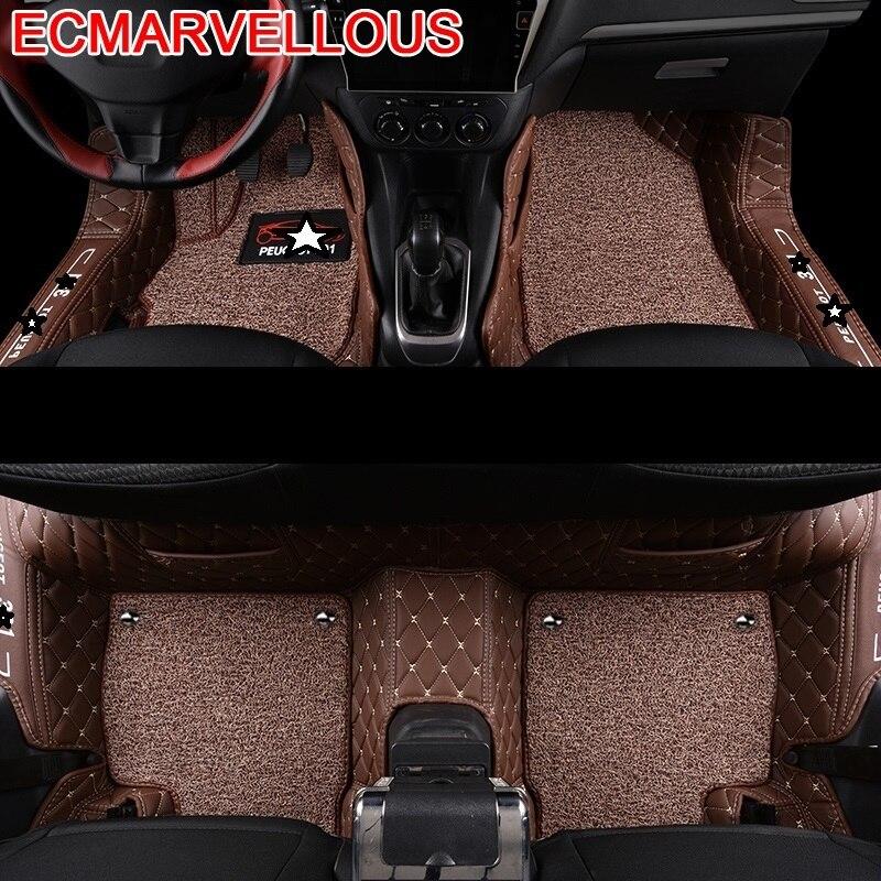 Accessoire protecteur décoratif tapis de sol voiture tapis pièces de style accessoires améliorés décoration coussin de pied pour Peugeot 301