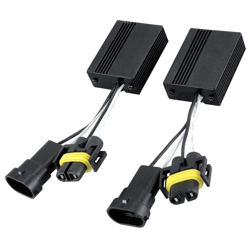 2 шт., Автомобильные светодиодные лампы H4 H7 H8 H11 9005 HB3 9006 HB4 50 Вт