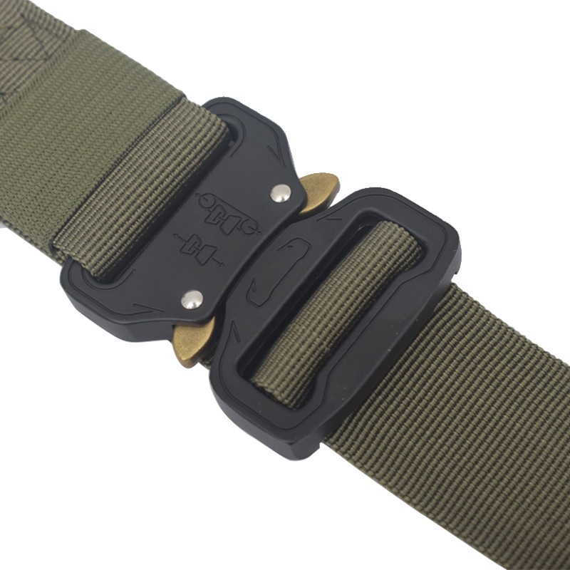 Multifunctional Cobra Belt Outdoor Nylon Pants Simple Joker New Multi-Function Cobra Belt 3.8cm Outdoor Training Nylon Belt