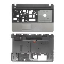 Yeni için Packard Bell EasyNote TE11 TE11HC TE11HR TE11BZ TE11HR TE11 BZ TE11 HC Palmrest kapak/dizüstü alt taban kılıf kapak