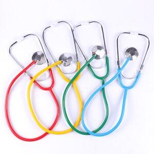 Image 2 - 1PC Portable Stethoscope Aid Single Side EMT Clinical Stethoscope Portable Medical Stethoscope Medical Equipment Tool