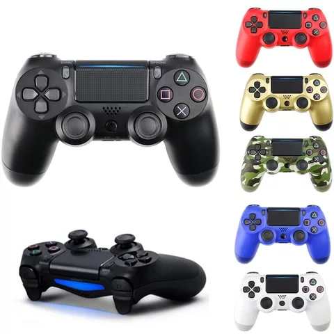 Wired Game Controller For Sony Playstation 4 PS3 PS4 Console WIN 7 8 10 OS PC For Dualshock Vibration Joystick Gamepad USB Cable(China)