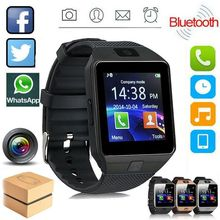 2018 good selling bluetooth smart watch android 5 1 ram 512 rom 4g support sim card 3g wifi camera 0 3 mp sim card skype ios Touch Screen Smart Watch dz09 With Camera Bluetooth WristWatch SIM Card Smartwatch For Ios Android Phones Support Multi language