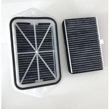 2 holes cabin filter for Vw sagitar CC Passat Magotan Golf tiguan touran audi skoda octavia external air filter